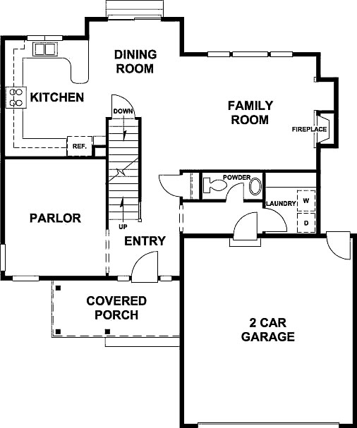 Morgan floor plan - main